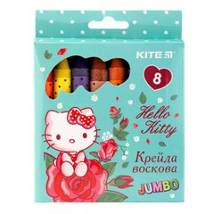 Мелки восковые Jumbo, 8 цветов, Kite Hello Kitty НК17-076