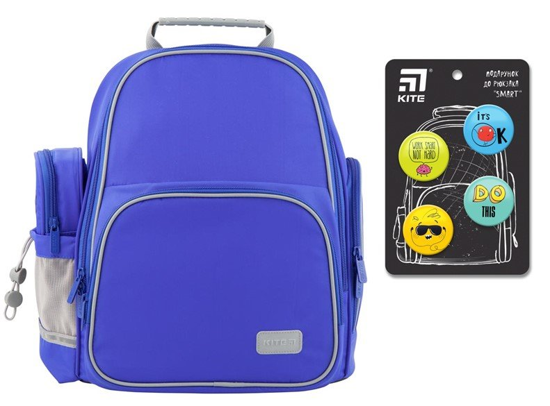 Рюкзак школьный Kite Education K19-720S-2 Smart синий