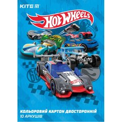 Картон цветной двусторонний Hot Wheels HW19-255