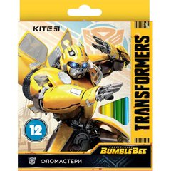 Фломастеры Kite Transformers BambleBee Movie TF19-047, 12 цветов