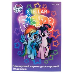 Картон цветной двусторонний Kite My Little Pony LP19-255