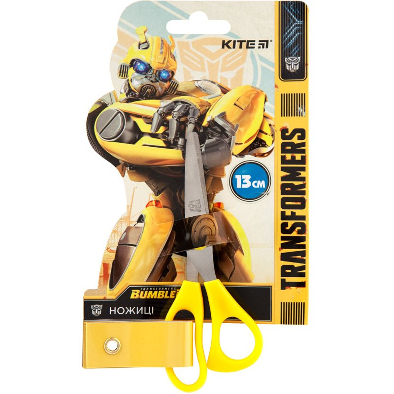 Ножицы Kite Transformers BumbleBee Movie TF19-122, 13 см